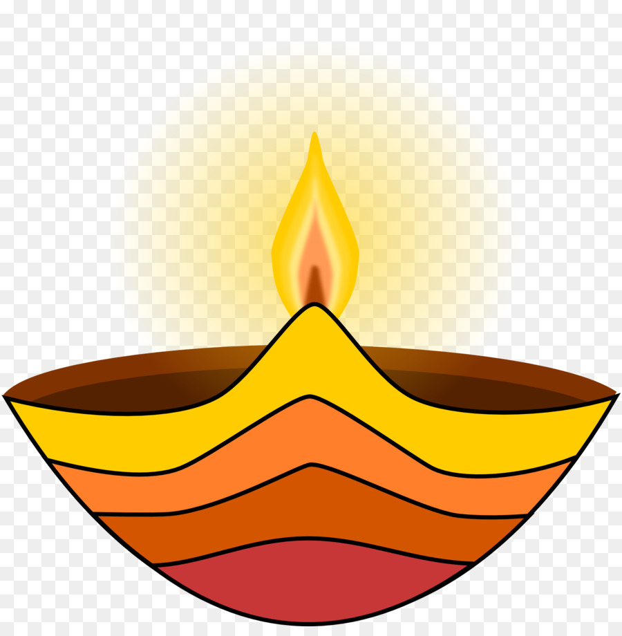 Diwali Oil Lamp clipart.