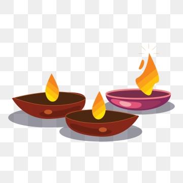 Diwali Diya PNG Images.