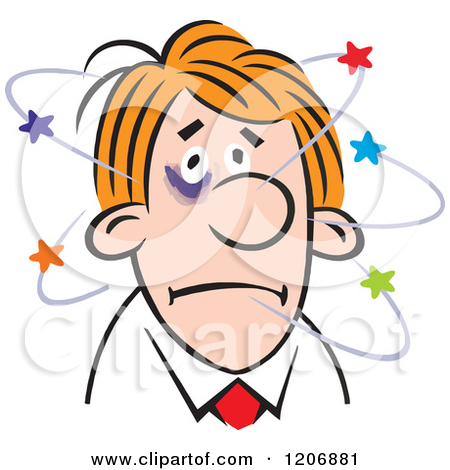 Dizziness Clipart.