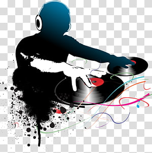 Disc Jockey transparent background PNG cliparts free.