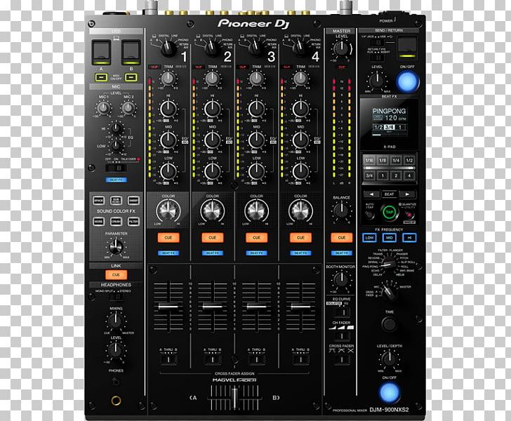 DJM DJ mixer Pioneer DJ Disc jockey DJ controller, dj sound.