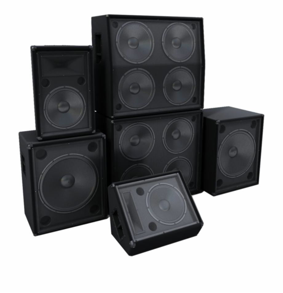 Dj Speakers Png Free PNG Images & Clipart Download #11912.