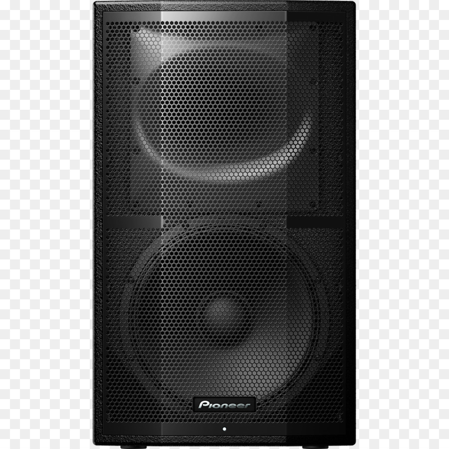 Powered Speakers Sound Box png download.