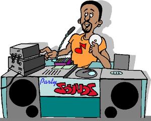 Radio Dj Clipart.