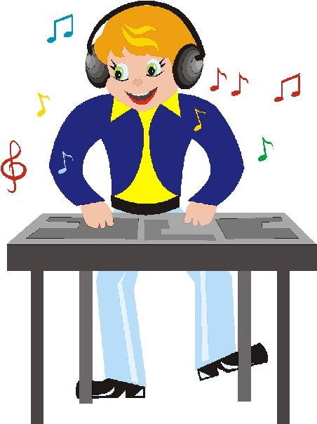 DJ Clip Art.