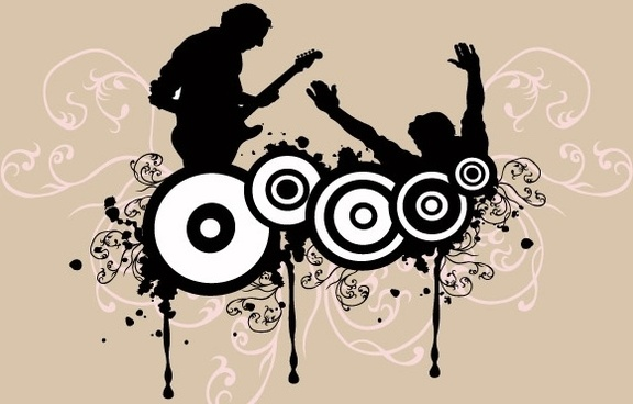 Rock music dj clipart free vector download (5,873 Free vector) for.
