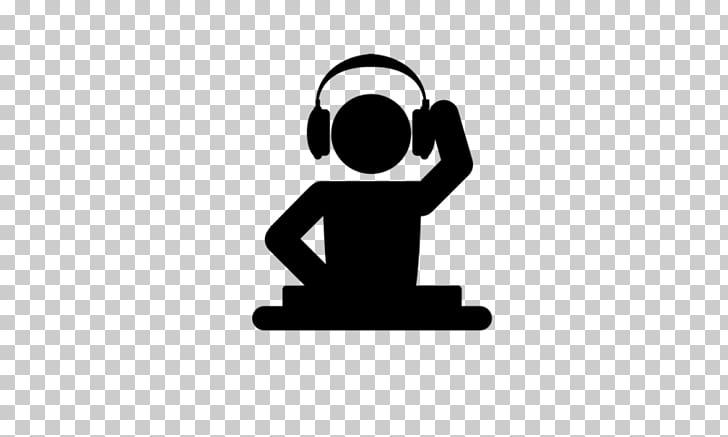 Disc jockey DJ mix Logo Music, design PNG clipart.