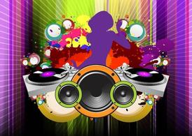 Girl DJ Clipart Picture Free Download.