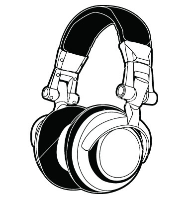 Dj Headphones Artwork.