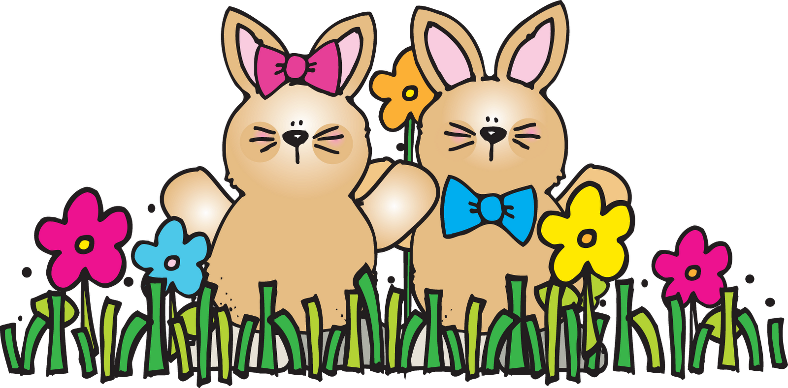 Easter Dj Inkers Clipart.