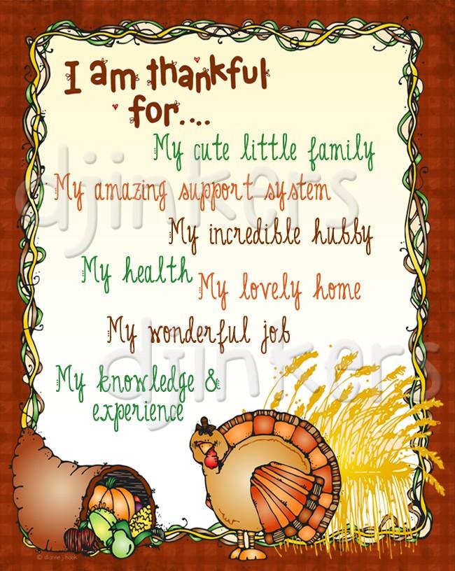 Thanksgiving clip art border.