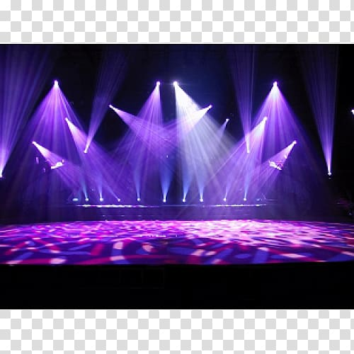 Stage light, Stage lighting DJ lighting Disc jockey, stage.