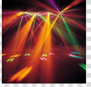 Green light ray , Magaluf Nightclub DJ lighting Nightlife, night.
