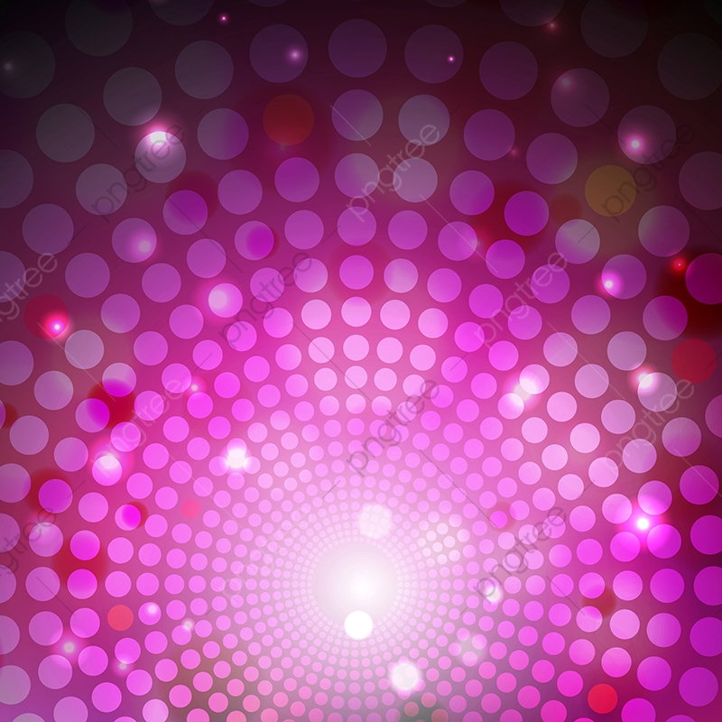 Abstract Purple Light Circle And Led Background Illustration.
