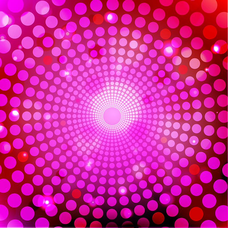 Abstract Pink Light And Led Background Illustration, Background, Dj.