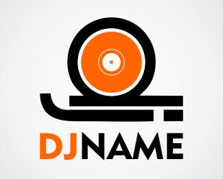 Logo for DJ Designed by alissonsilvaweb.