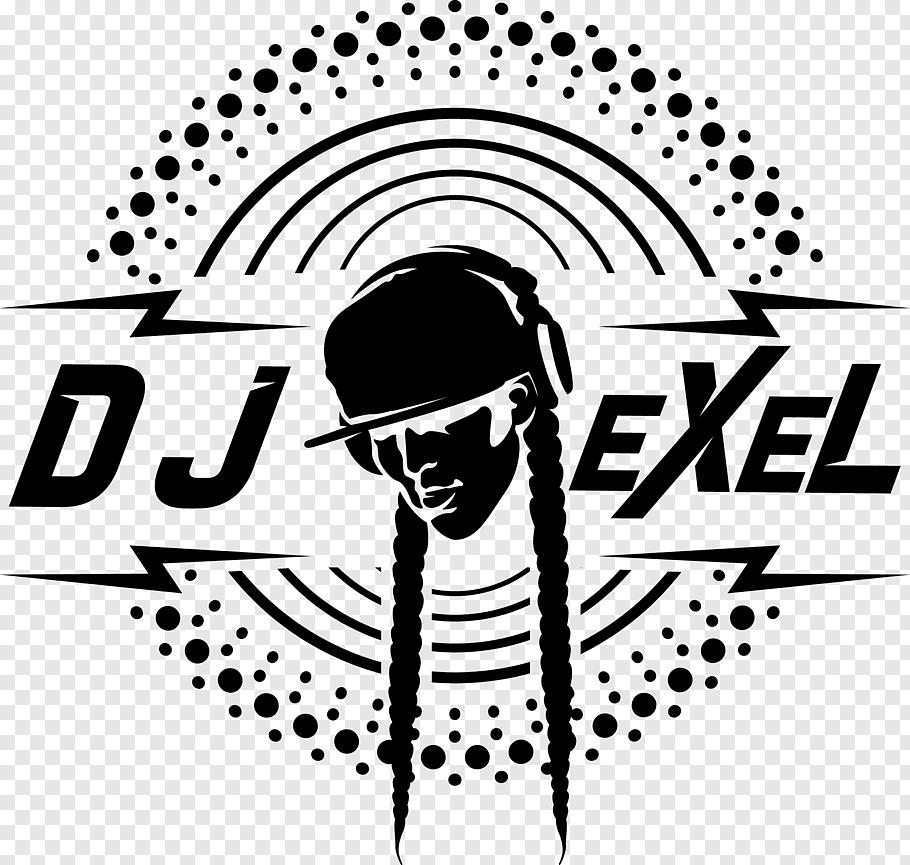 Art Minimalism Graphic design, dj logo free png.