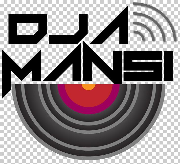Logo Graphic design Disc jockey, dj logo PNG clipart.
