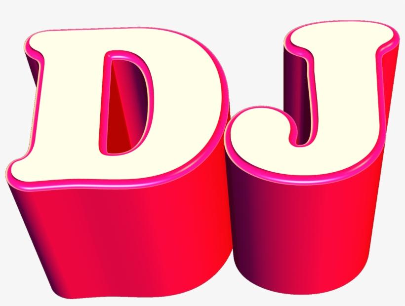 Dj Logo 3d Png PNG Image.