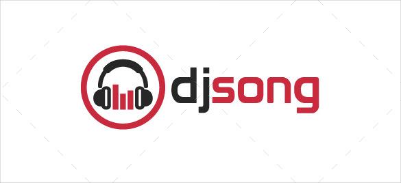 DJ Logo Template.