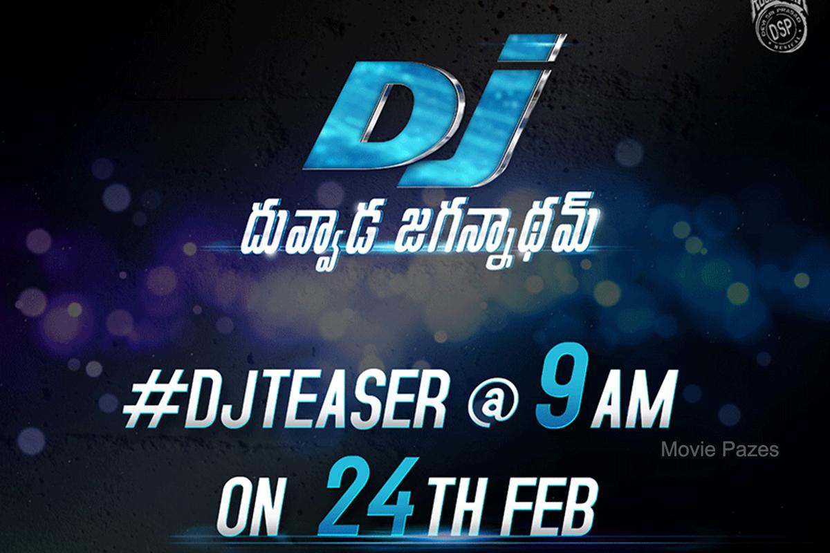 Index of /images/gallery/DJ Duvvada Jagannadham Teaser Release Poster.