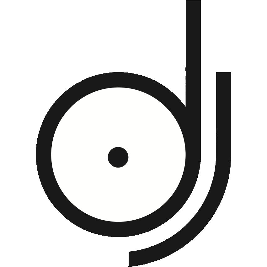dj logo.