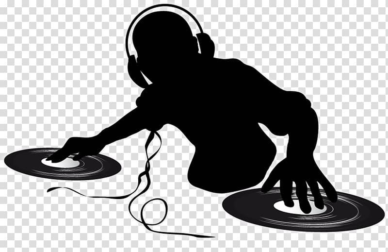 Music DJ illustration, Disc jockey Turntablism , DJ transparent.