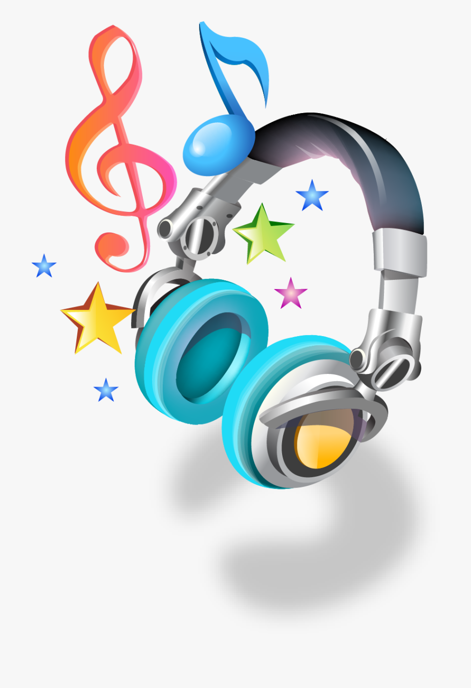 Dj Music Notes Png.