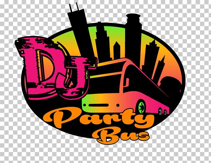 DJ Party Bus Services LLC, Dj Night PNG clipart.