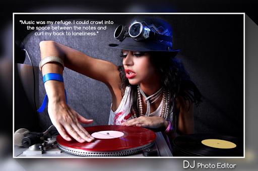 DJ Photo Editor.