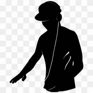 Free Dj Silhouette PNG Images.