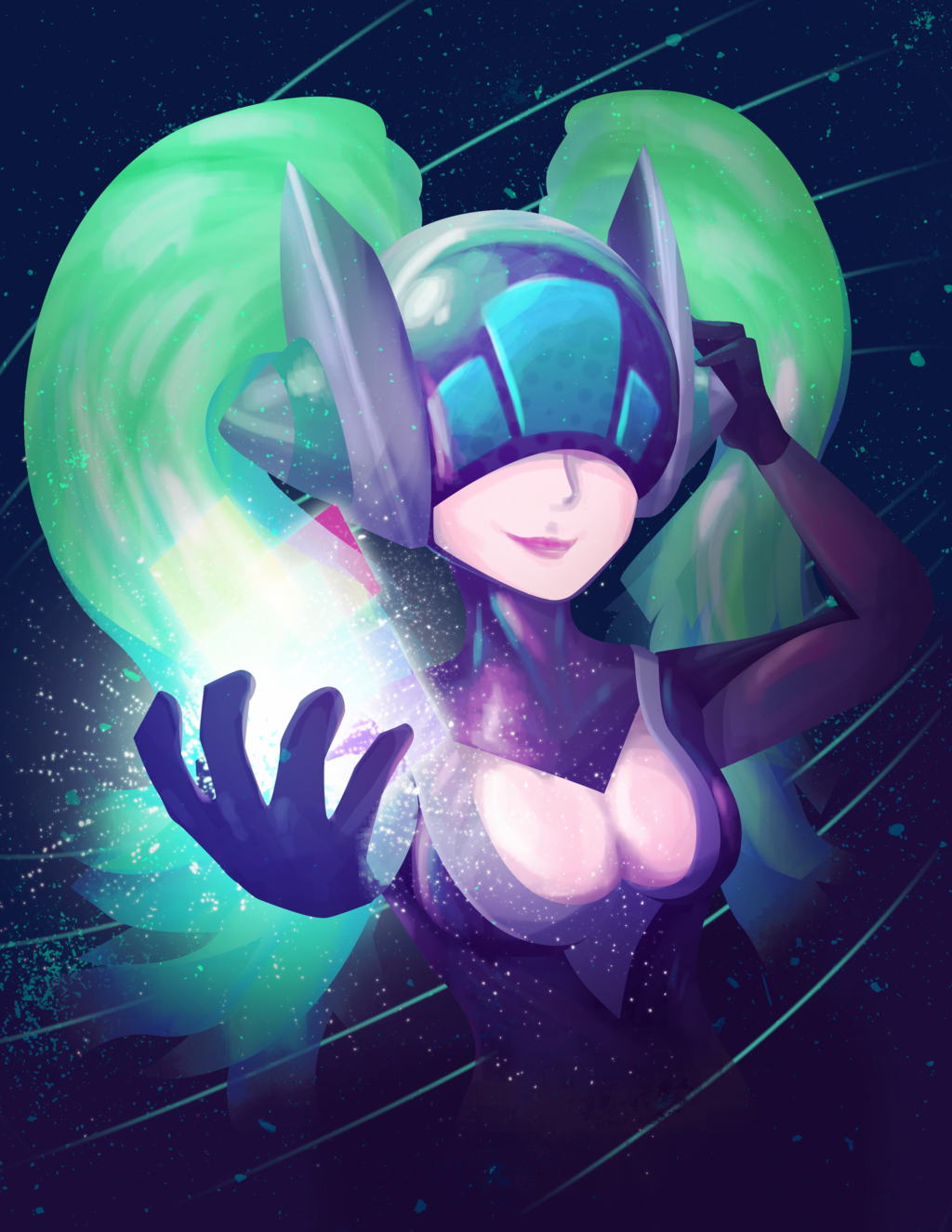 DJ Sona by Ravenide on DeviantArt.