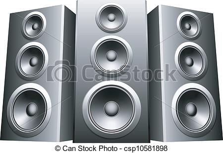 Dj speakers clipart 3 » Clipart Station.