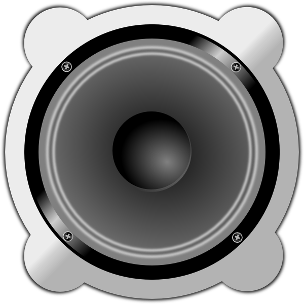 Stereo Speakers Clipart Dj Speaker Clipart.