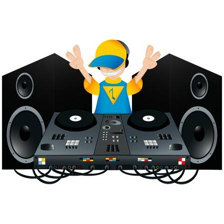 767 Dj Speakers Stock Vector Illustration And Royalty Free Dj.