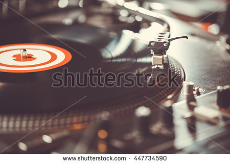 Dj Turntable Stock Images, Royalty.