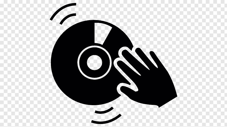 CD symbol, Disc jockey Remix Icon, DJ free png.