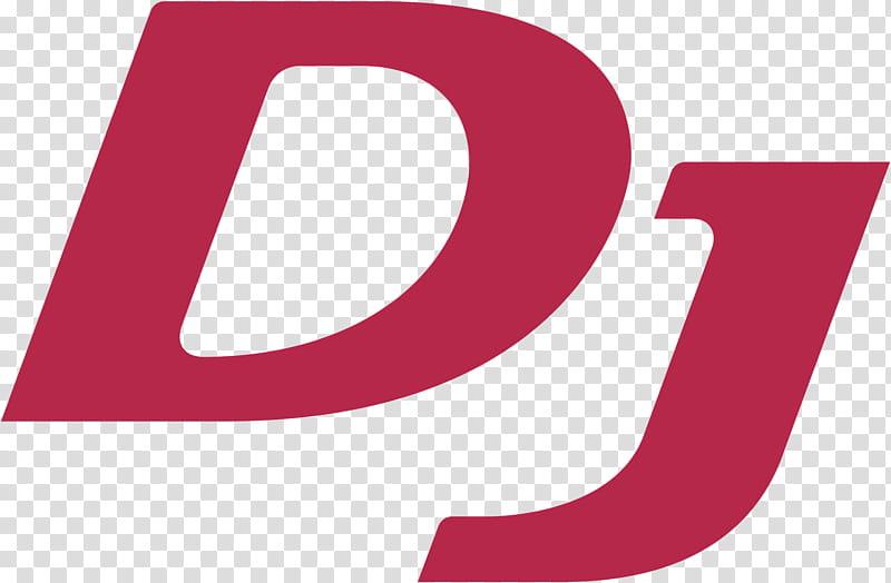 Pioneer DJ Logo , red DJ text transparent background PNG.