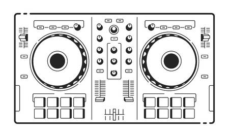 9,689 Dj Turntable Stock Illustrations, Cliparts And Royalty Free Dj.