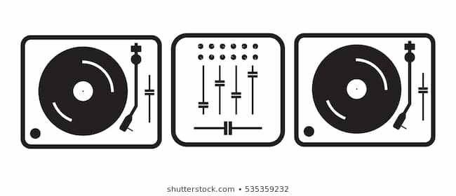 Dj turntable clipart 4 » Clipart Portal.