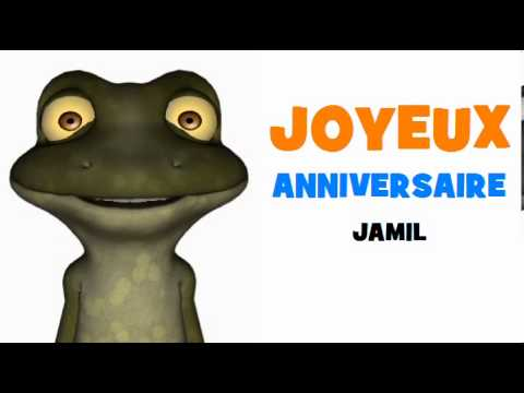 JOYEUX ANNIVERSAIRE JAMIL!.