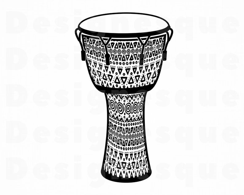 Djembe #2 SVG, Djembe SVG, Djembe Clipart, Djembe Files for Cricut, Djembe  Cut Files For Silhouette, Djembe Dxf, Djembe Png, Eps, Vector.