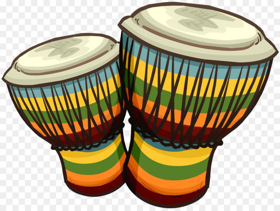 Bongo Drum Conga Djembe Clip Art.