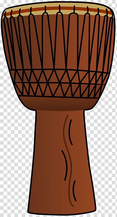 Africa Djembe Drum , African transparent background PNG clipart.