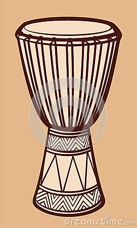 Djembe drum clipart - Clipground