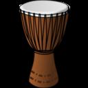 Djembe Drummer Clipart.