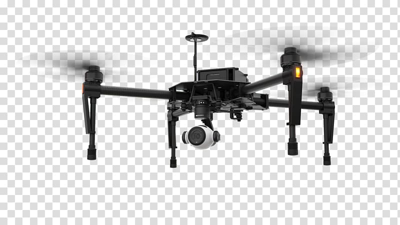 Black quadcopter drone, Mavic Pro DJI Zoom lens Camera.
