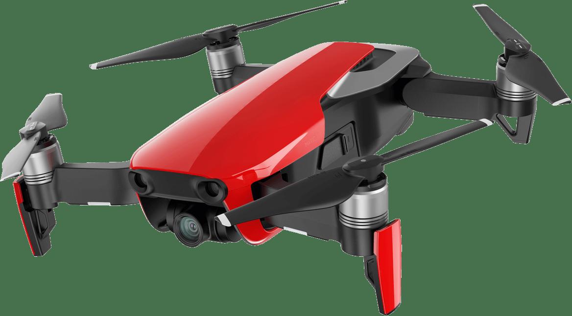 Dji Mavic Air Red Drone transparent PNG.