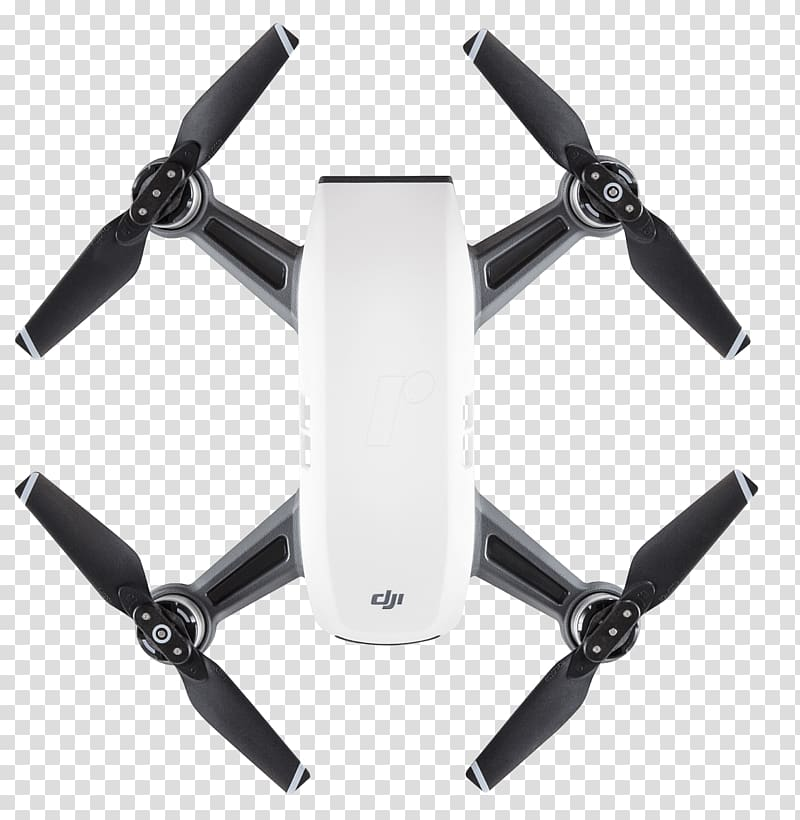 DJI Spark Quadcopter Unmanned aerial vehicle Gimbal, Camera.