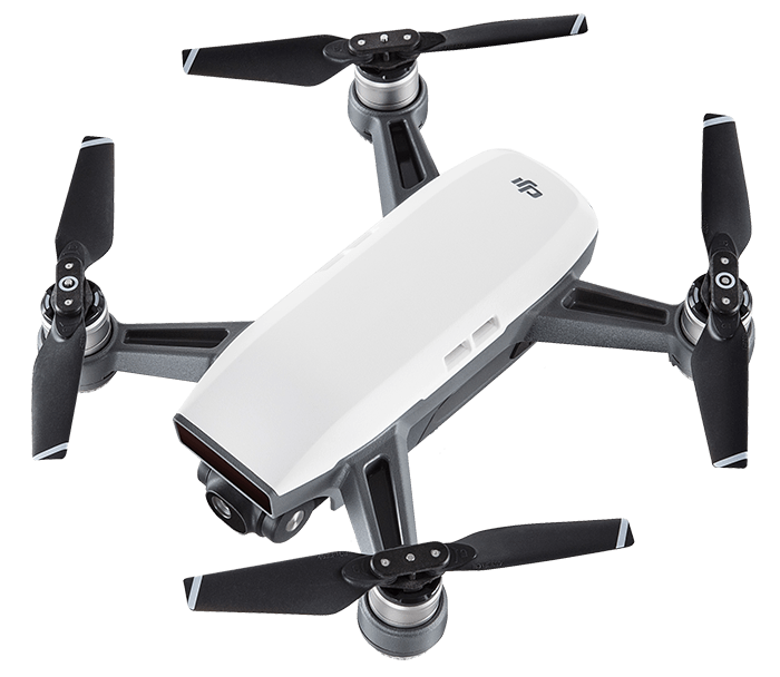 Dji Spark Top View transparent PNG.